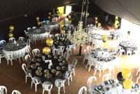 Charity ball marquee